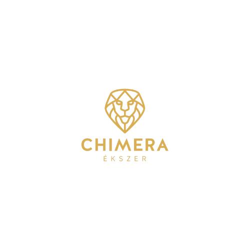 Arany egy köves szív fülbevaló