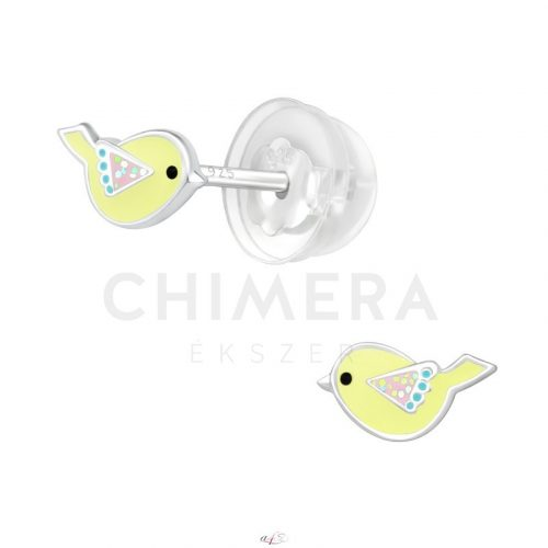 Ezüst fülbevaló