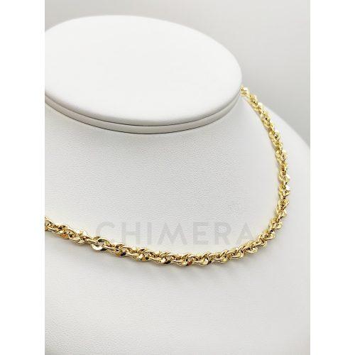Arany csavart nyaklánc