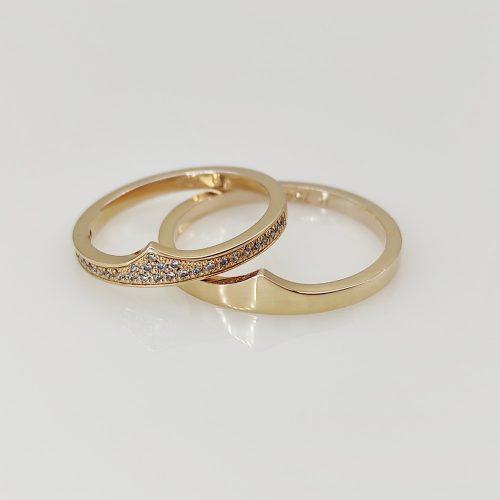 Arany karikagyűrű